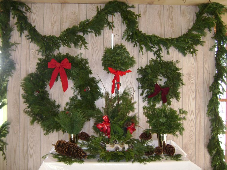 Wisconsin Christmas Wreaths Wholesale Fund Raising Fresh Balsam And